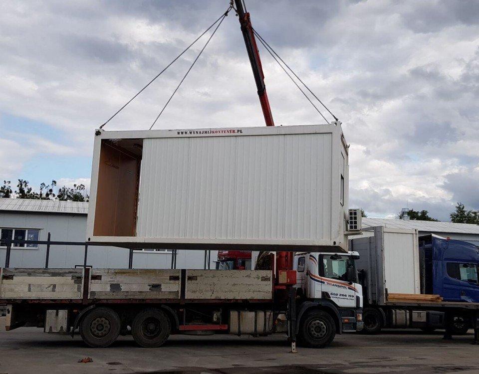 transport kontenerów pomorskie