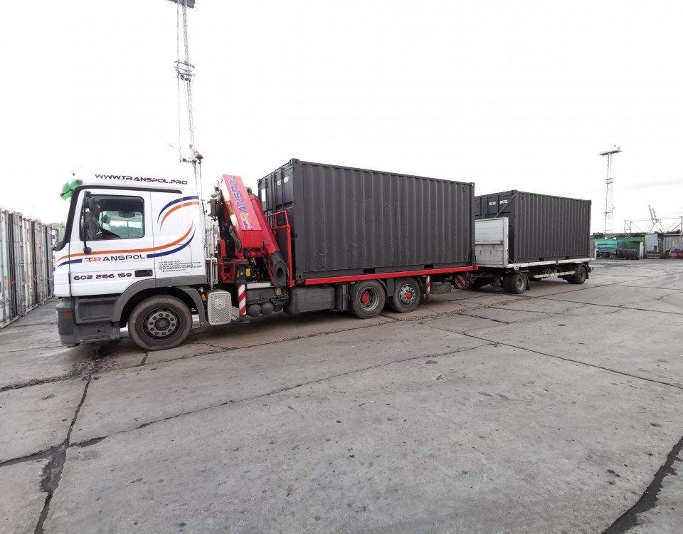 transpol transport kontenerów