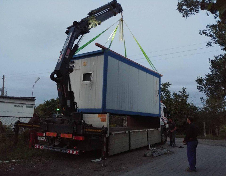 transport kontenerów transpol