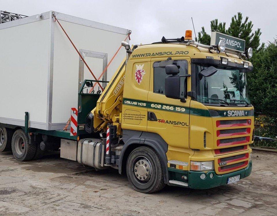 uslugi transport kontenerów
