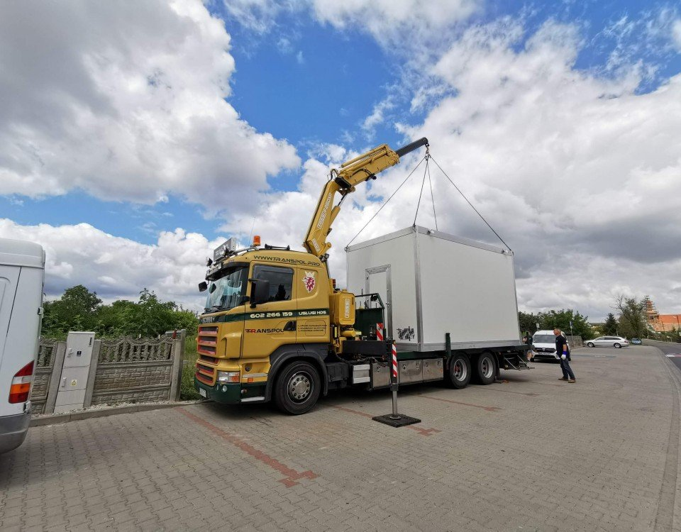 kontenery usługi transportowe