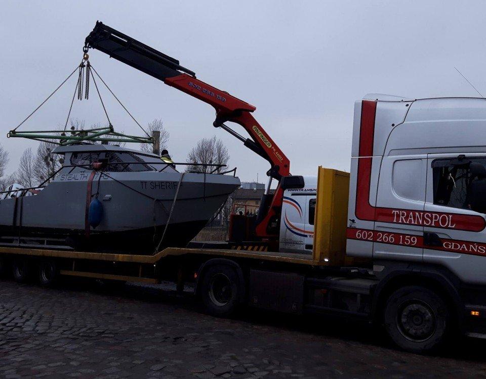 pomorskie transport niskopodwoziowy