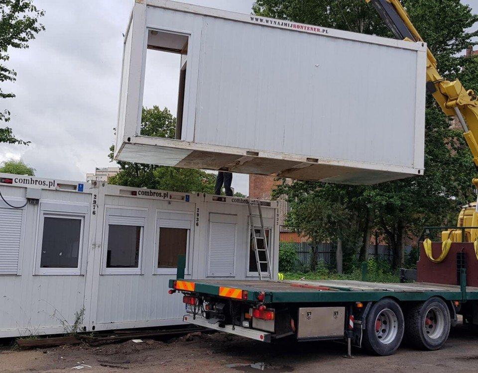 transport kontenerów trójmiasto