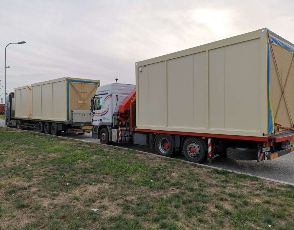 kontenery transport Transpol