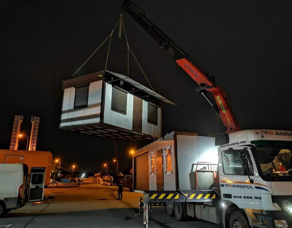kontenery transport usługi